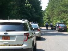 Body found near Old Bayleaf and Durham roads, near Falls Lake in Wake County.