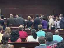 Moral Monday protesters in court