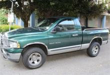 Raleigh police are asking for anyone who might have seen Thomas Flora driving this green Dodge Ram pickup truck to contact them.