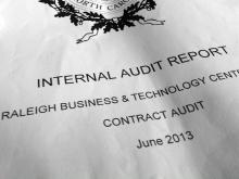Audit: Money unaccounted for at Raleigh incubator