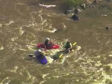 Haw River rescue