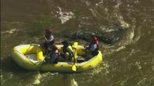 IMAGES: Swollen rivers keep water rescue crews busy