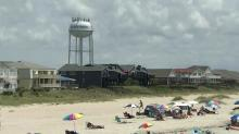 IMAGE: Ocean Isle Beach town leaders discuss rip current safety