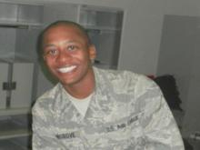 Wilson family mourns airman's shooting death