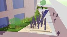 IMAGES: Raleigh breaks ground on fallen police officer memorial