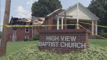 IMAGES: Roxboro church destroyed after fire breaks out during prayer service