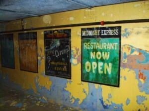 A view of the defunct Raleigh Underground, also know as Village Subway. Photo courtesy of candidslice.com