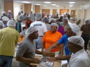 A Triangle area church is celebrating its anniversary by helping others around the world.