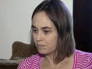 Nine months' pregnant, Shannon Tilley was exposed to rabies on July 11 when her dog, Abbie, was bitten by a rabid fox.