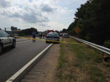 A body was found along westbound Interstate 40 near Hammond Road in Raleigh Tuesday afternoon. Police are on the scene and traffic is backed up in that area.