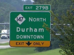 Durham commute
