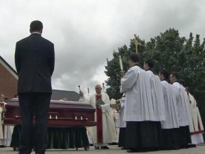 Clergy from across the southeast turned out to mourn and remember former Raleigh Bishop F. Joseph Gossman.