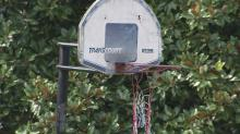 IMAGE: Fayetteville neighbors 'cry foul' over basketball goals near streets