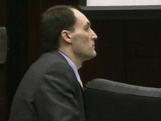 Brad Cooper during his first-degree murder trial in 2011.
