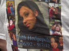 Faith Hedgepeth memorial shirt
