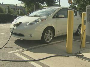 Owners of plug-in electric vehicles can use one of Raleigh's public chargers to bring their battery life from zero to 100 percent battery in about four hours.