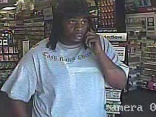 Zebulon police are looking for this man, who is suspected in a robbery of a Sally Beauty Supply store.