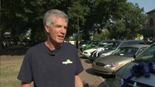 IMAGE: Charity gives away 13 cars in Raleigh's Moore Square