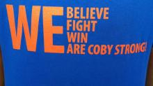 IMAGES: School stays 'Coby strong' for classmate fighting cancer
