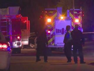 Fayetteville police said a man died Saturday night in an explosion in the front yard of a home off Bunce Road.