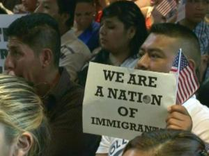 Hundreds of immigrants joined local and state leaders, as well as members of North Carolina's congressional delegation – Reps. David Price and G.K. Butterfield – at Durham's Immaculate Conception Catholic Church on Sunday, Sept. 15, 2013, for dialog on the matter.