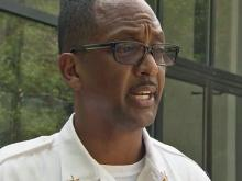 Fayetteville Assistant Fire Chief Ron Lewis