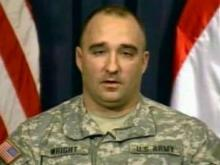 Army Col. Darron L. Wright (Photo from American Forces Network)