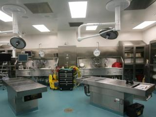 A look inside an autopsy room at the N.C. Office of the Chief Medical Examiner in Raleigh.