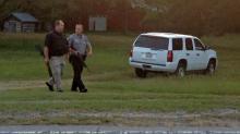 IMAGE: Neighbors on alert amid manhunt near Louisburg