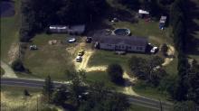 Sky 5: Body found in Fayetteville yard