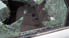 Shattered Car Window