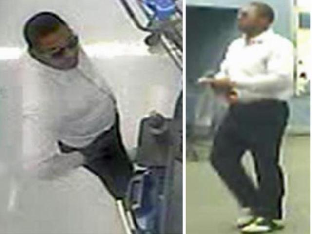 Raleigh police and Wake County sheriff's deputies are asking for the public's help in identifying the man in these photos as part of their investigation into a series of armed robberies in north Raleigh.