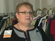 WakeMed Clothes Closet lets patients leave with dignity