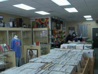 Hunky Dory record shop