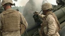 IMAGE: Loud but necessary training rocks Fort Bragg