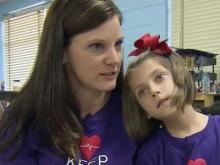 Hope Mills girl battles rare chromosome disorder