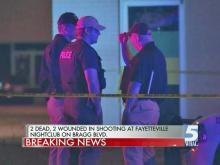 Two killed in shooting outside Fayetteville nightclub