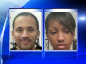 Tyrone Beamon Jr., left, and Shaundrea Juanette Milhouse