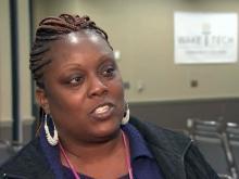 Female veterans struggle to find civilian work