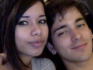Ana Kessel in a photo with her boyfriend before a hit-and-run on Nov. 11, 2013.