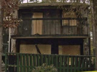 Durham firefighters say a fire broke out at Foxfire Apartment Homes on Nov. 17, 2013.