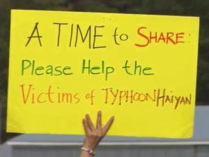 Members of the Filipino community in Angier are among many in the Triangle area collecting money and donations for victims of Typhoon Haiyan.