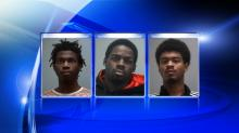 IMAGE: Three charged in series of vehicle break-ins at NC State