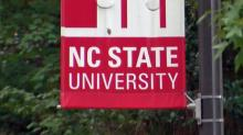 IMAGES: Crews quickly cap gas leak on NC State's Centennial Campus