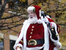 Raleigh Christmas Parade in downtown Raleigh on Saturday, November 23, 2013.