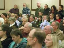 Debate lasts hours at Pittsboro Board of Commissioners meeting