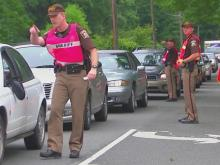 Sheriff's deputies conduct checkpoint