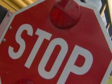 School Bus Sign; Stop