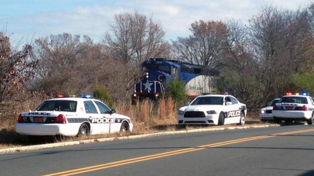 Police say a pedestrian was killed by a train near Pettigrew and Plum streets in Durham Monday afternoon.