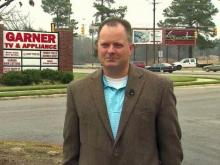 Garner TV and Appliance Manager Randy Pleasant